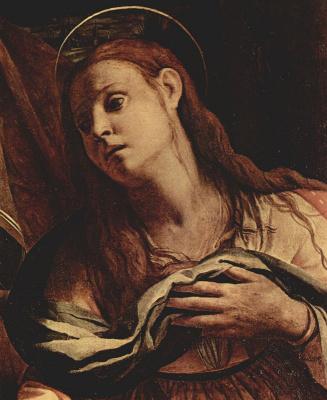 Agnolo Bronzino. Mary Magdalene. Fragment