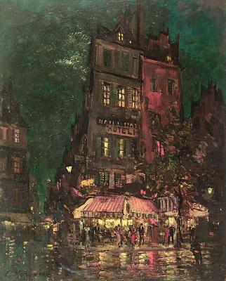 Konstantin Korovin. Paris. Street venice