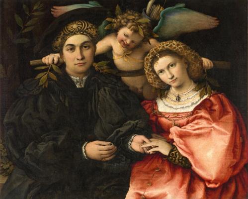 Мессер Марсилио Кассотти с женой Фаустиной