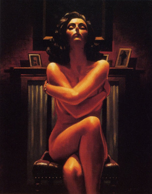 Jack Vettriano. Just the way it is
