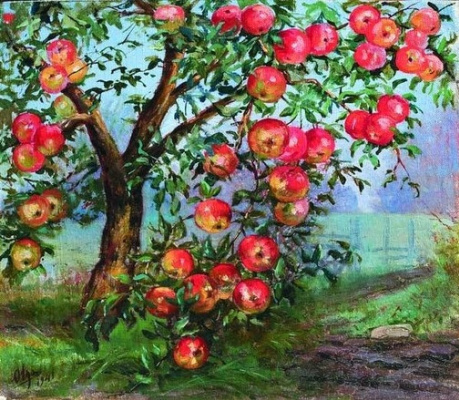 Olga Alexandrovna Romanova. The apples are ripe