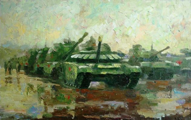 Michael Mine. Tanks