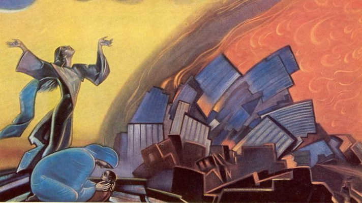 Svyatoslav Nikolaevich Roerich. You don't have to see the flames!