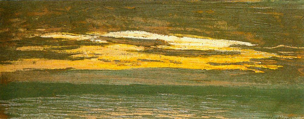 Claude Monet. 1Closing over the sea