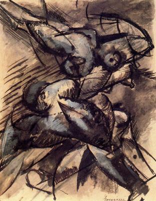 Umberto Boccioni. Plot 35