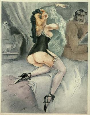Жан Моризо. В постели