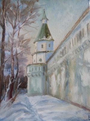 Надежда Георгиевна Шацкая. Монастырская стена