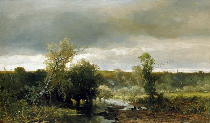 Йоханнес Билдерс. Пасмурное небо