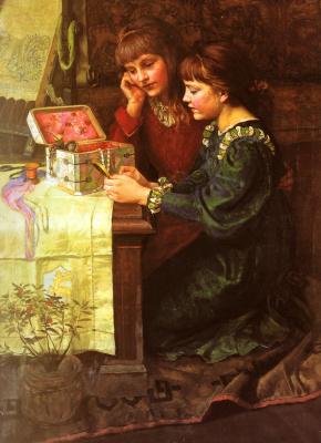 Мари Лоуис Гоу. Коробка
