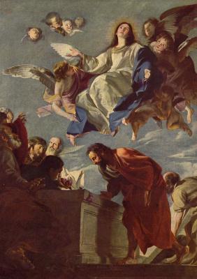 Матео Черезо Младший. Вознесение Марии