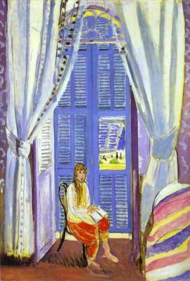 Анри Матисс. Французское окно