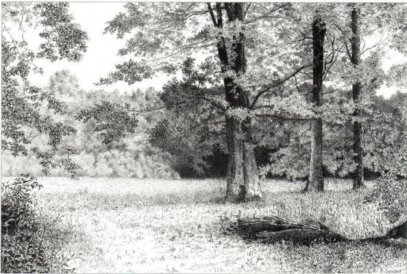 Barys Tsimafeevich Boksha. In chaheckim park.