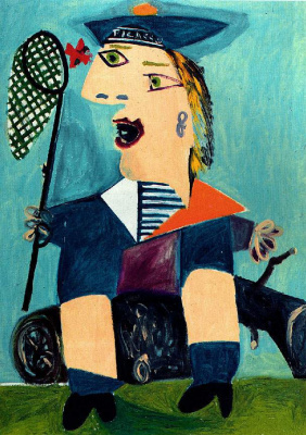 Пабло Пикассо. Майя в матроске