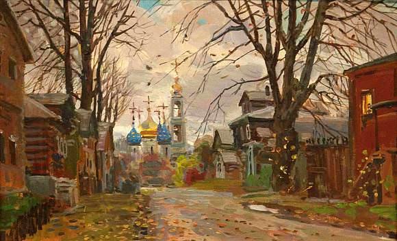 Pavel Viktorovich Ryzhenko. Sergiev Posad