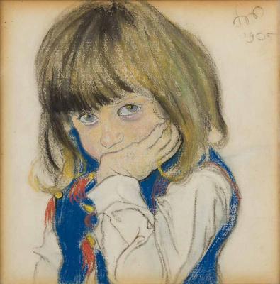 Портрет мальчика (Юзо Фельдман)