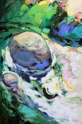 Валерий Хаттин. The stone in the water