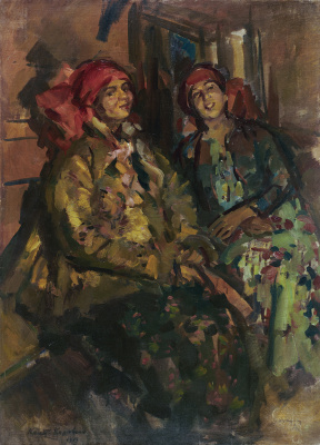 Konstantin Korovin. Two peasant women