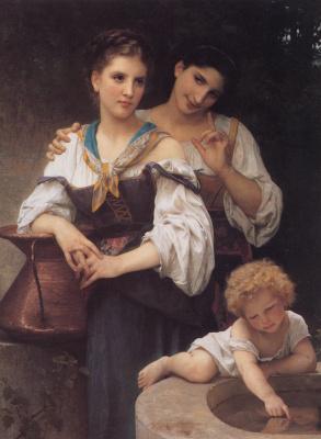 William-Adolphe Bouguereau. The secret