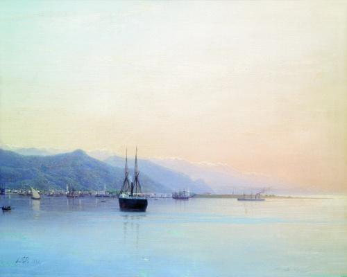 Lev Feliksovich Lagorio. Harbor