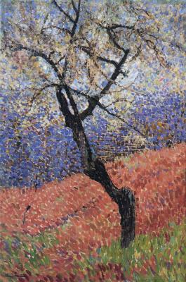 Henri Martin. Tree