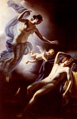 Jerome Martin Langlois. Diana and Endymion