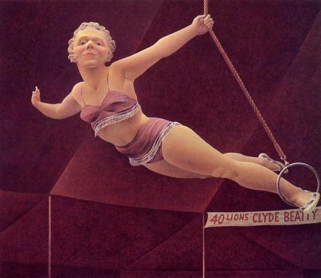 Алекс Колвилл. Цирковая женщина