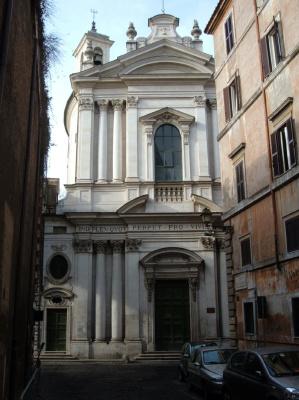Fugue Ferdinando. Church of Santa Maria del Orazione e Morte