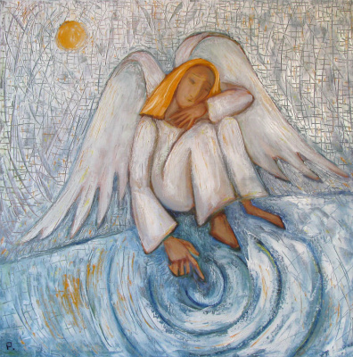 Svyatoslav Ryabkin. Sad angel Sad angel_