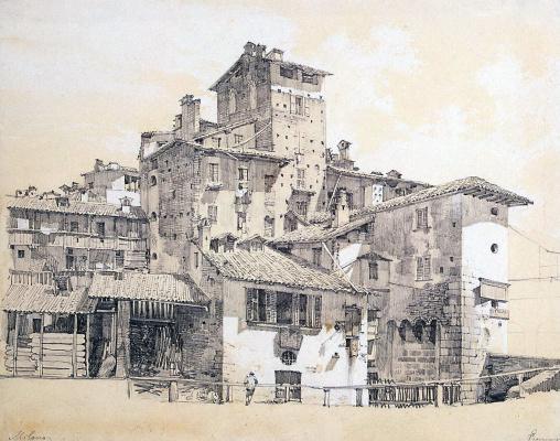 Luigi Premazzi. The Slums Of Milan