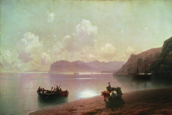 Ivan Aivazovsky. Morning on the sea