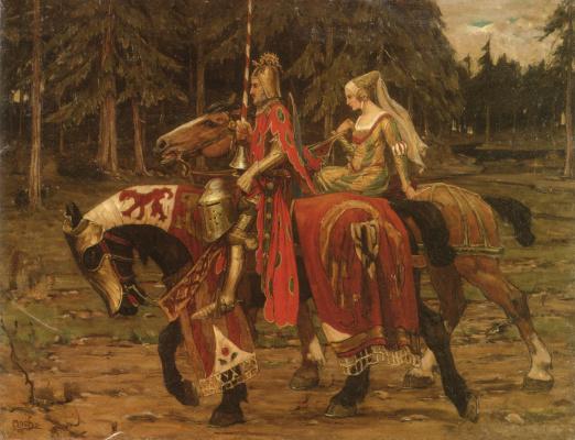 Alphonse Mucha. Heraldic chivalry