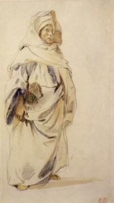 Эжен Делакруа. Араб в Марокко