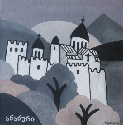 Vladimir Garnikyan. Ananuri fortress. Georgia