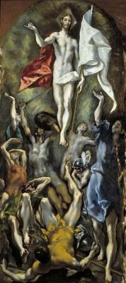 Доменико Теотокопули (Эль Греко). Воскресение