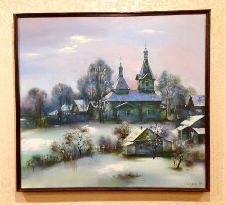 Николай Яковлевич Силаев. Церковь в Вологде
