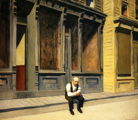 Edward Hopper. Sunday