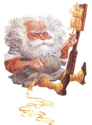 James Christensen. Bearded dwarf