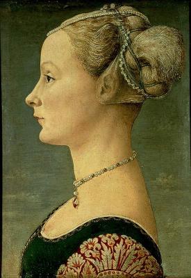 Антонио Поллайоло. Портрет молодой женщины