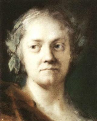 Rosalba Carriera (Carrera). Self-portrait