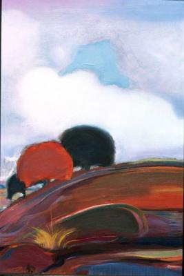 Svyatoslav Nikolaevich Roerich. Monsoon. Clouds