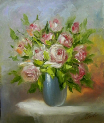 Александра Демидова. Розы