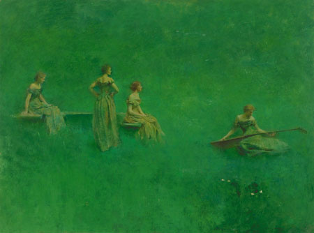 Thomas Wilmer Dewing. Plot 14