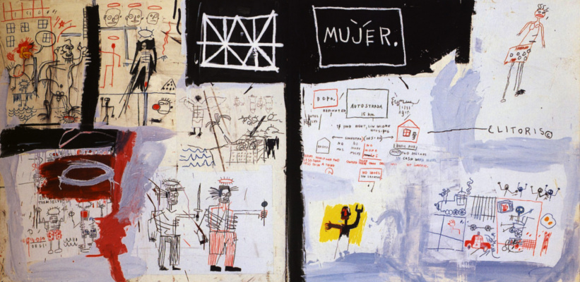 Jean-Michel Basquiat. The price of gasoline in the third world