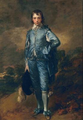 Thomas Gainsborough. Blue boy