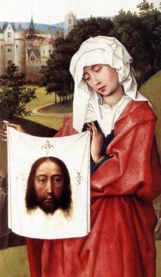 Rogier van der Weyden. Triptych Of The Crucifixion. Fragment