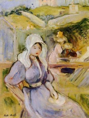 Berthe Morisot. On the shore to Portree