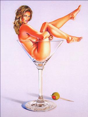 Мел Рамос. Мисс мартини