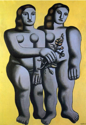 Fernand Leger. Two sisters