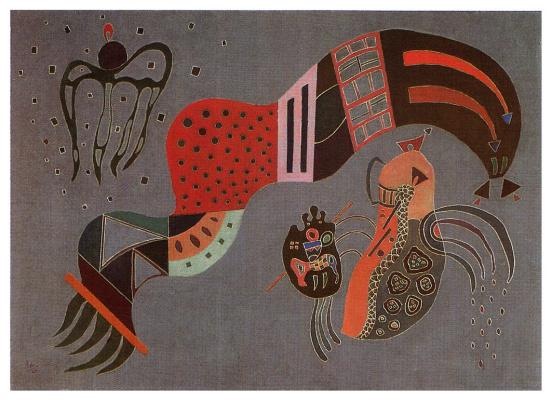 Wassily Kandinsky. Moderation