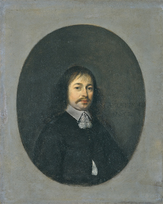 Gerard Terborch (ter Borch). Portrait of a man of forty-two
